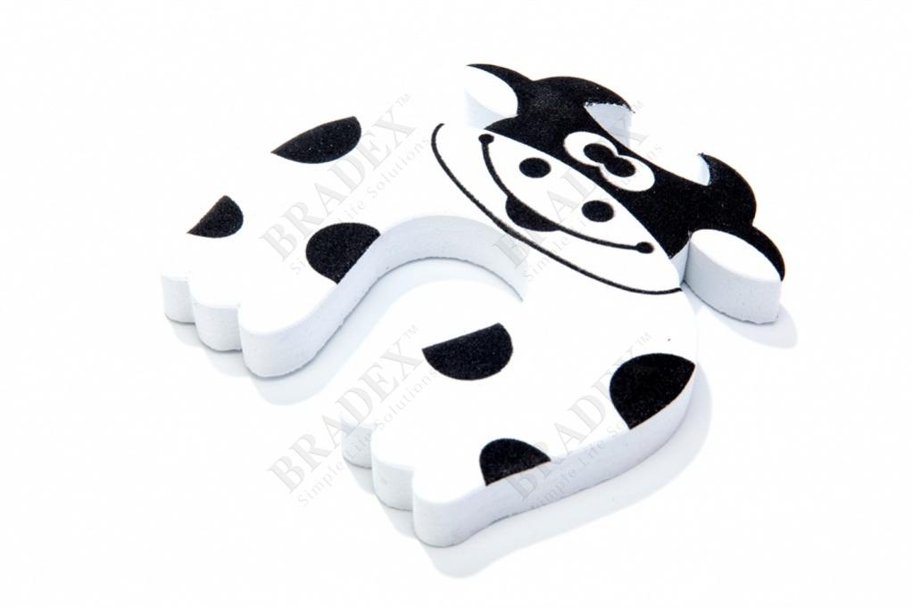 Стоппер для дверей детский «корова» (baby animal cartoon door stopper)