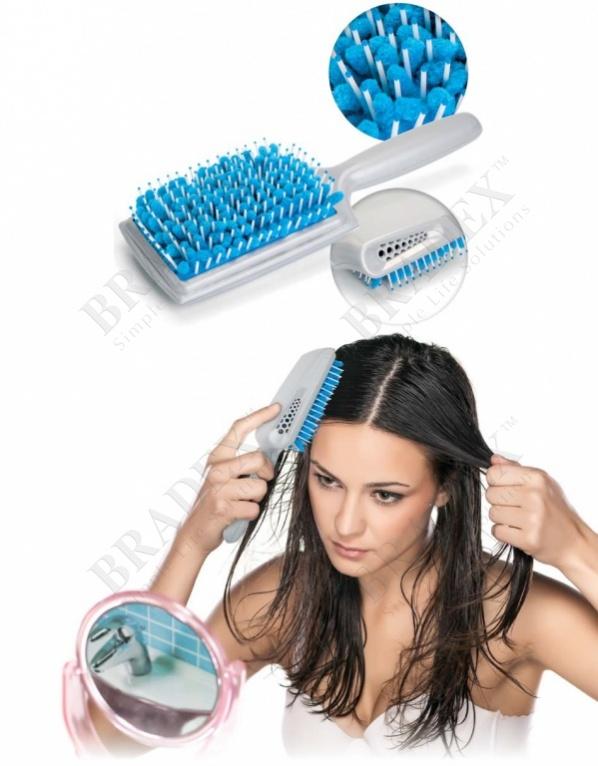Щетка для сушки волос с микрофиброй (goody quickstyle brush)
