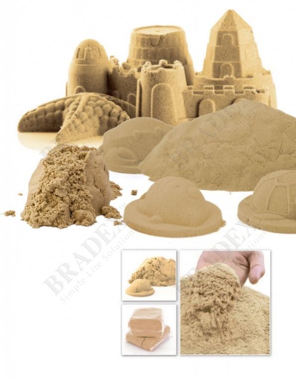 Песок для игры «чудо-песок» 1 кг цвет натуральный песочный (cildren christmas toys play sand for kids christmas gift)