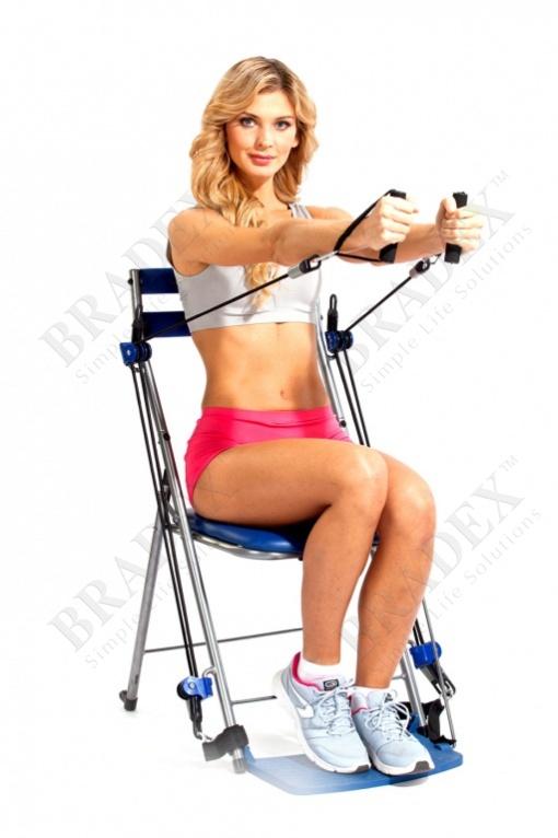 Стул-тренажер «фитнес станция» (chair gym)