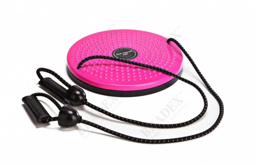 Диск вращающийся с эспандерами «грация плюс» (waist twisting disc with ropes)