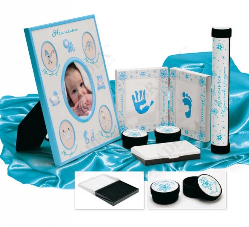 Набор подарочный для новорождённого «мой малыш» (5 pcs baby gift sets)