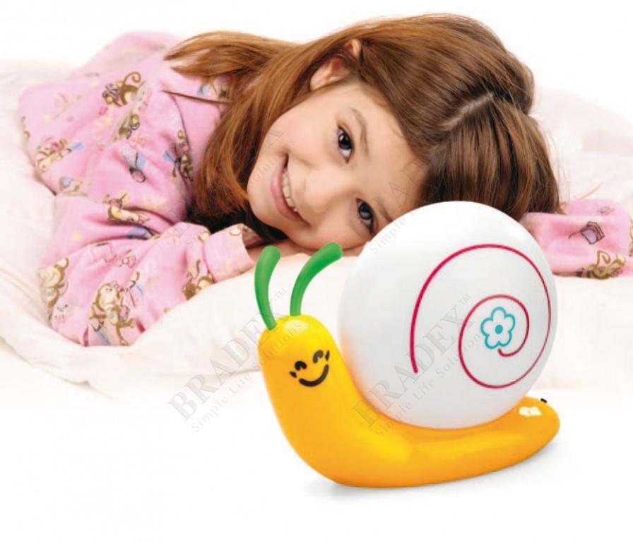 Ночник детский «улитка» (snail nightlight)