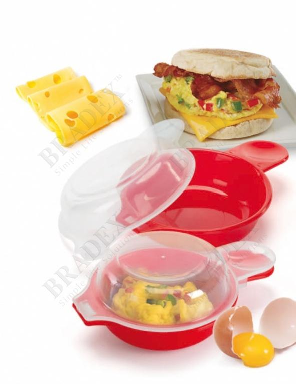 Формочки для запекания омлета и яичницы в микроволновой печи «здоровый завтрак» (easy eggwich)