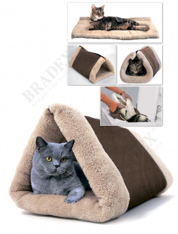 Лежак для кошка своими руками